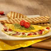 Omelettes capresse
