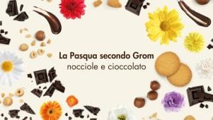 Gelato al cioccolato + crema gianduia + biscotti