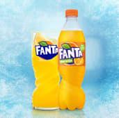 Fanta Naranja botella 500ml.