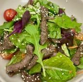 Теплий салат з телятиною (200г)
