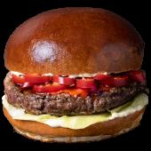 Burger Red Hot (3 papryczki) L