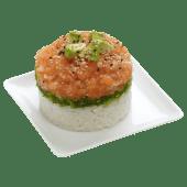 Tartare saumon garden
