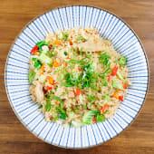 Curry veggie-don (200 g.)