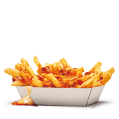 Bacon King Fries con Cheddar Sauce e Bacon Bits