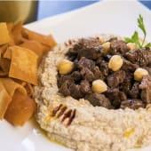 Hummus de carne