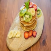 Pancake con miel