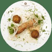 Люля-кебаб з яловичиною та печерицями (200г)