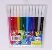 Marcador Escolar Pta Fina Colores Cjx12Un Ref: 80158
