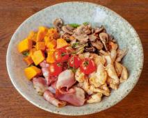 Salada de Frango Marinado