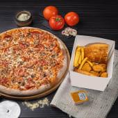 ქათმის მიქს კალათა + დიდი პიცა (ფავორიტი კატეგორიიდან)