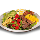 Prime rib cobb salad