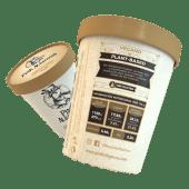 Helado vegano de avellana (450 ml.)