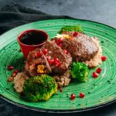 Topla obrok salata - Biftek