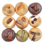 Assortiment de 9 mini-cookies