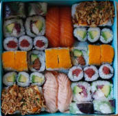 Sushi Box para 3-4 (40 pzs.)