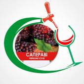 Вино Сапераві столове сухе червоне (1л)