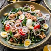 Salată mix cu ton