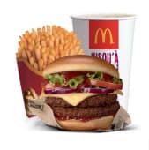 Menu Signature by McDonald's Double Beef BBQ Burger