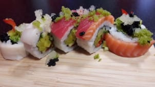 Californian Passion Rainbow Roll