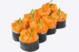 Рол Футомакі з лососем у спайсі