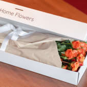 Cutie HomeFlowers 11 spray roses portocalii