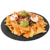 Media ración nachos TexMex