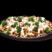 Smoky gouda chicken & broccoli skillet