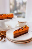 Tort ciocolata si portocale