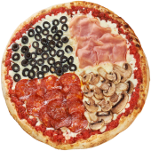 Pizza Quattro Stagioni Ø 24cm