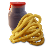Chocolate (500 ml.) + 10 Churros