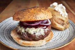 Chrysler Tower burger (sin gluten)