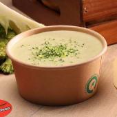 Supă cremă de broccoli cu emmentaller