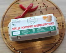 Яйце куряче фермерське (10шт)