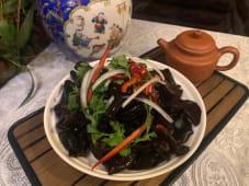 B9 შავი სოკოს სალათი ცივად