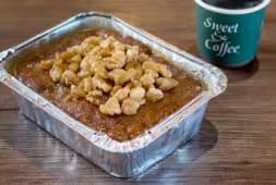 Mini torta de manzana y nuez (entero)