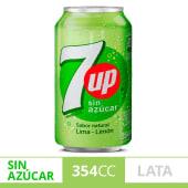 7up Sin Azúcar 354ml
