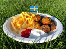 Swedish WeganBalls Frytki