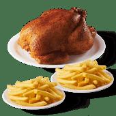 Pollo asado entero 2