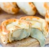Roquefort y pera