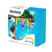 Arco De Waterpolo Inflable Con Pelota Y Red. Bestway