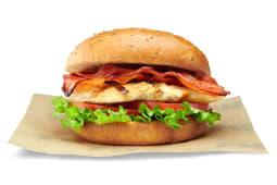 Bacon Burger de Pollo