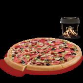 Büyük Boy Pizza + Carte d'Or Dondurma