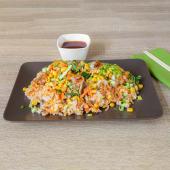 Kozice grill wok riža s povrćem