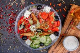 Salata de pui cu branza