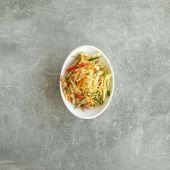 Салат из капусты острый