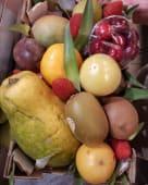 Cesta de frutas pequeña