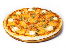 Піца з лососем (35см)