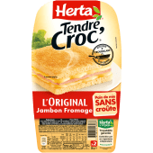 Croc' jambon fromage x2 210g
