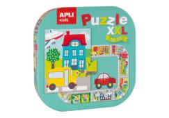 Puzzle Xxl Cidade Apli 20pcs 16578