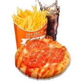 Meniu Pizzetta Pepperoni și Parmezan